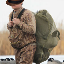 "30x40"" Mesh Duck Goose Decoy Bag w/ Draw String - Bird Hunting Gear Hunter Green"