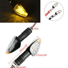4 Pcs Universal Motorcycle Led Turn Singal Lights Indicator Blinker Lamps Amber