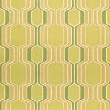 Mid Century Original Fab Green Geometric Vintage  MINIMALIST WALLPAPER 1960s 70s