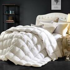 Goose Down Comforter Pinch Pleat Design Duvet Comforter 750+ Fp, 1200 Tc