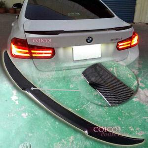 Carbon Fiber BMW 2012~2018 F30 3-series Sedan M4 type Trunk Spoiler ◎