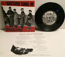 "Bastard Sons Of Apocalypse - S/T 7"" (Used)"