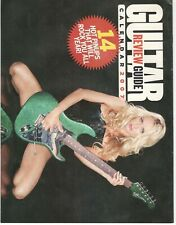 Guitar Review Guide 2007 Calendar with 14 Pinups
