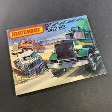 VINTAGE 1982-83 MATCHBOX COLLECTOR'S CATALOGUE DIE-CAST CARS COLLECTION BOOK