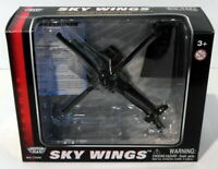 Motormax Skywings 1/100 Scale 77019 - AH-64 Apache Longbow With Display Stand