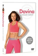 Davina The Ultimate Target Workout DVD FITNESS WEIGHT LOS UNWANTED NR