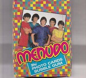 1983 Topps Menudo Full Box 36 Mint Packs Original Stock
