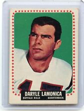 1964 TOPPS FOOTBALL #31 DARYLE LAMONICA ROOKIE CARD RC, BUFFALO BILLS, 121815