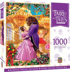 Masterpieces Puzzle Classic Fairy Tales Beauty and the Beast Puzzle 1,000 pieces