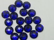 20ss COBALT HOT FIX swarovski rhinestones 72pcs