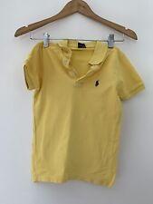 Bots Ralph Lauren Polo Top 5 Years Yellow Short Sleeve Casual <JJ13150