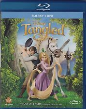 DISNEY TANGLED(BLU-RAY+DVD) 2-DISC COMBO PACK BRAND NEW