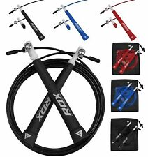 RDX Boxing Skipping Rope Speed Fitness Fat Loss Adjustable Gym Jump Exercise C9
