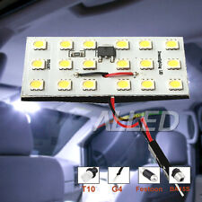 SMD-LED T10, BA15S, Festoon,G4 Panel Globe Cool White Interior Auto Dome Lamp