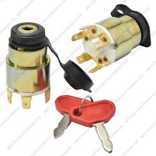 12V Universal Ignition Starter Switch & Cover - 2 Keys - Car Marine Motorcycle
