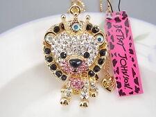 Betsey Johnson Fashion Cute beautiful Lion King Pendant Necklace # F159