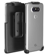LG G5 Belt Clip (case free design), Encased ClipMate² Non-Slip Rotating Holster