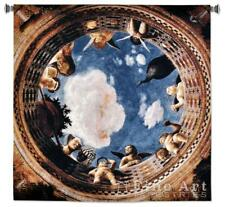 """Ceiling Of The Camera Traditional Art Tapestry Wall Hanging Blue Sky W53"""" x H53"""""""