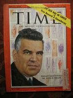 TIME magazine July 27 1959 Jul 7/27/59 John R. Heller New War On Cancer