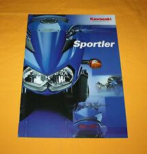 Kawasaki sportifs 2003 prospectus brochure depliant Prospetto catalog folder