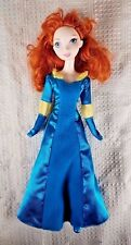 2011 Disney Brave MERIDA Doll w/Dress & Shoes Mattel 11""