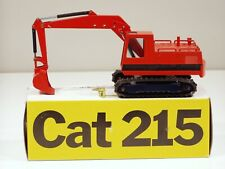 """Caterpillar 215 Excavator - """"ORANGE"""" - 1/50 - NZG #190 - MIB"""