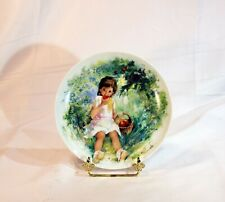 Marie-Ange limited edition Children Collection Limoge plate.