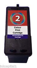 1x Lexmark N º 2 Compatible Tinta Cartucho para x3480