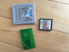Nintendo Game Boy Advance and DS game lot 3 Games Pokémon & Zelda