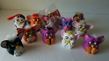 Lot of 11 Collectible Furby McDonalds Happy Meal Toys. Used.