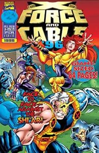 X-FORCE AND CABLE Annual 1996 - Back Issue