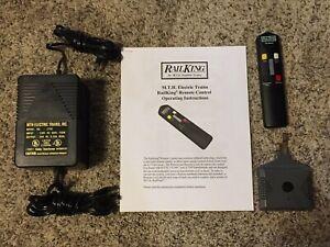 MTH 50-1012 RailKing IR Remote Control System w/ Z-750 75W Transformer included!