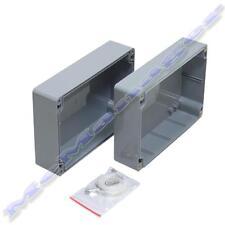 171x121x80mm grigio ABS plastic enclosure piccola casella Progetto IP65 Sigillata