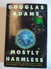 Douglass Adams Mostly Harmless 1st edition Signed