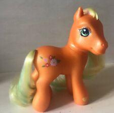 My Little Pony - Spring Parade Figure MLP G3 Hasbro 2002 Orange w/ Yellow Hair