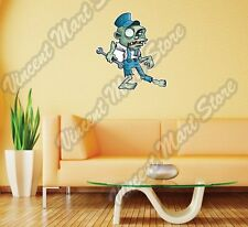 "Zombie Plumber Professional Funny Wall Sticker Room Interior Decor 20""X25"""