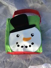 NewThirty One 31 Gifts Littles Carry-All Caddy in Cool Cutie Snowman gift bag