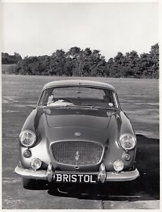 1958 BRISTOL TYPE 406 SALOON ORIGINAL PERIOD FACTORY PRESS PHOTOGRAPH FOTO 2