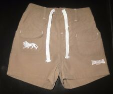 Lonsdale shorts - size 4 - tan colour, boys clothing