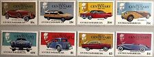 ANTIGUA BARBUDA 1986 983-90 Block 118-19 Automobile Cars Autos Mercedes Daimler