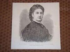 Sua Altezza Reale Maria Vittoria Duchessa D'Aosta