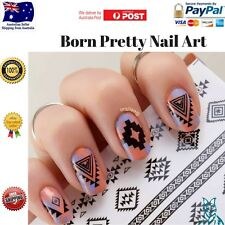 Born Pretty Nail Art 1xSheet Wrap Water Transfer Slide Decals Stickers
