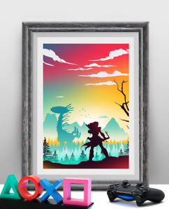 Horizon Zero Dawn Gaming Poster