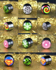 Acrylic Handmade Stud Costume Earrings