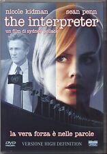 The Interpreter (2005) DVD USATO OTTIME CONDIZIONI