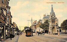 BR64362 southampton above bar tramway chariot   uk