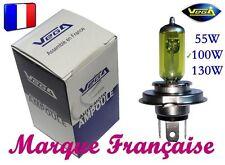 10 AMPOULES JAUNE MARQUE FRANCAISE VEGA® H1 100W AUTO MOTO ANCIENNE EXCLUSIF