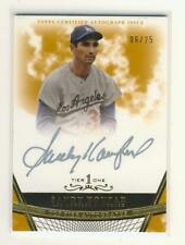 Sandy Koufax 2011 Topps Tier One SILVER Autograph (GOLD) 06/25  ONLY 25 EXIST!!