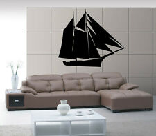 Ship Yacht Boat Keel See Ocean Marine Mural  Wall Art Decor Vinyl Sticker z554