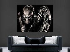 Alien vs predator film Art Mur Photo Poster Géant Grand